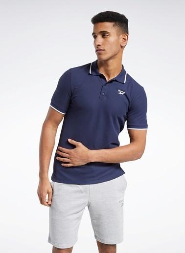 Reebok Reebok Fu3095 Rı Polo Polo T-Shirt Lacivert